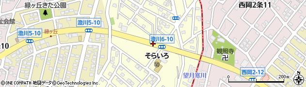 澄川6‐11周辺の地図