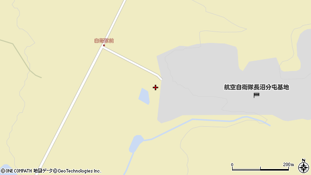 〒069-1321 北海道夕張郡長沼町馬追の地図