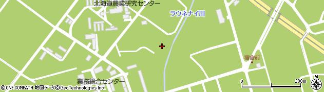 北海道札幌市豊平区羊ケ丘周辺の地図