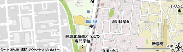 澄川3‐6周辺の地図