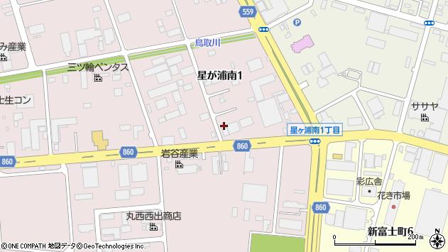 〒084-0913 北海道釧路市星が浦南の地図