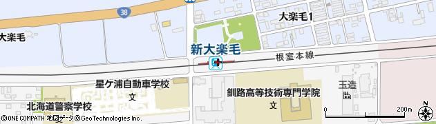 北海道釧路市周辺の地図