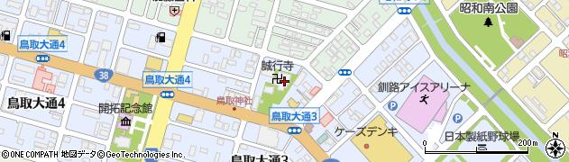 誠行寺周辺の地図