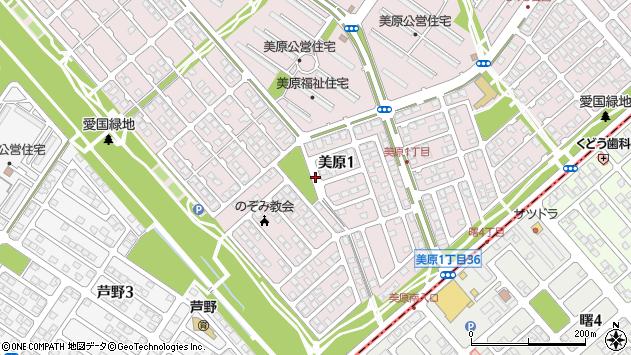 〒085-0065 北海道釧路市美原の地図