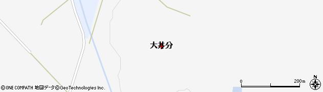 北海道栗山町(夕張郡)大井分周辺の地図