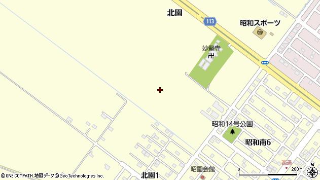 〒084-0908 北海道釧路市北園の地図