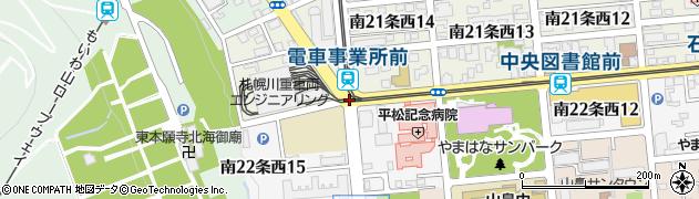 南22西14周辺の地図