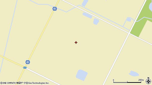 〒069-1306 北海道夕張郡長沼町6区の地図