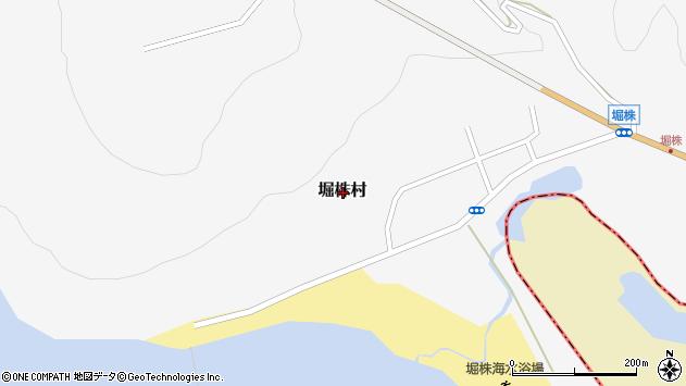 〒045-0201 北海道古宇郡泊村堀株村の地図