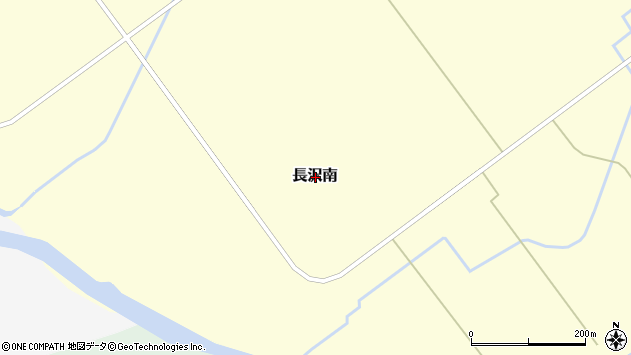 〒048-2333 北海道余市郡仁木町長沢南の地図