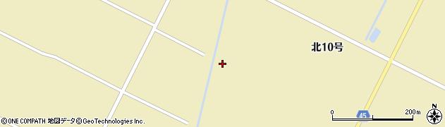 長沼用水周辺の地図