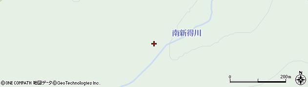 南シントク川周辺の地図