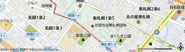 北海道札幌市白石区東札幌2条1丁目の住所 - goo地図