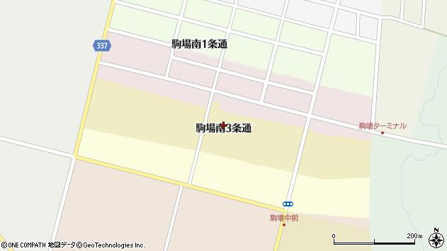 〒080-0567 北海道河東郡音更町駒場南3条通の地図