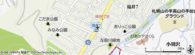 福井7周辺の地図