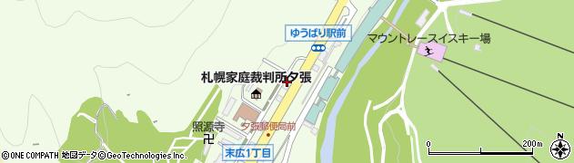 空知日石株式会社 末広給油所周辺の地図