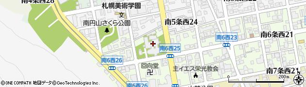 信広寺周辺の地図