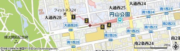 南1西26周辺の地図