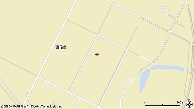 〒069-1301 北海道夕張郡長沼町1区の地図