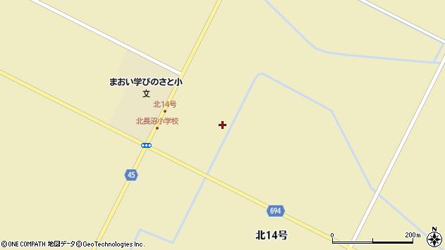 〒069-1304 北海道夕張郡長沼町4区の地図