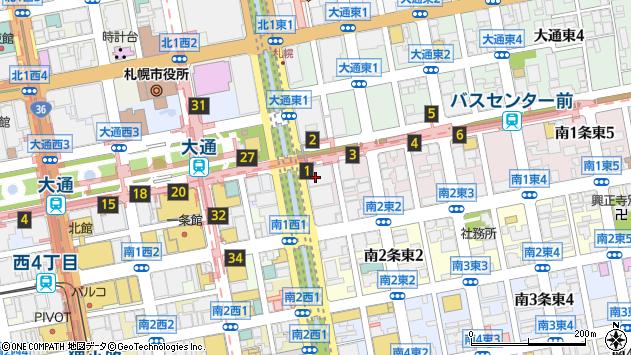 〒060-0051 北海道札幌市中央区南一条東の地図