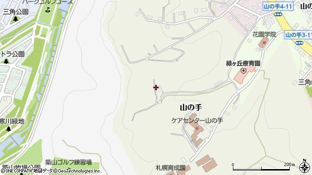 〒063-0009 北海道札幌市西区山の手の地図