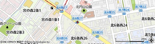 北7西26周辺の地図