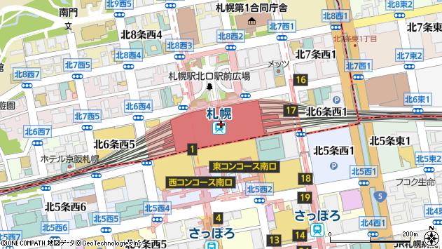 「北34条駅」の時刻表/バス乗換案内/路線図/地図 - NAVITIME