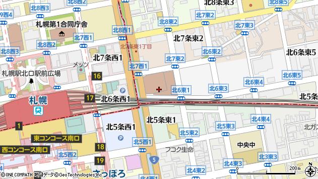 〒060-0906 北海道札幌市東区北六条東7丁目の地図
