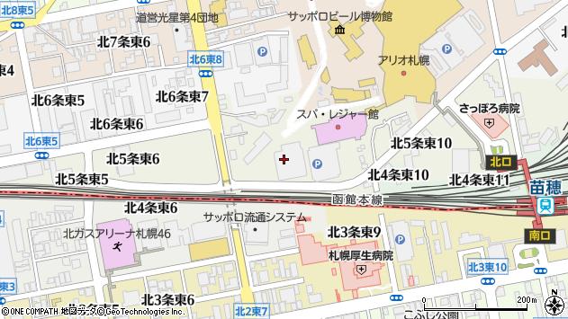 〒065-0005 北海道札幌市東区北五条東10丁目の地図