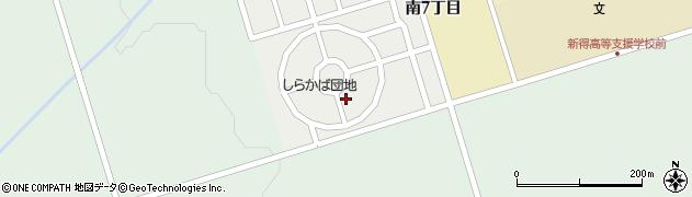 しらかば団地周辺の地図