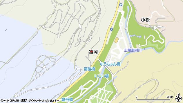 〒068-0408 北海道夕張市富岡の地図