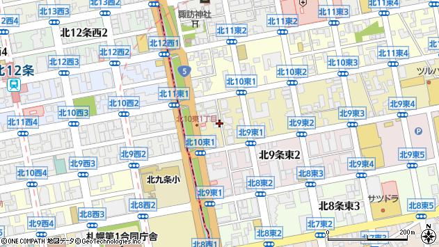 〒065-0010 北海道札幌市東区北十条東の地図