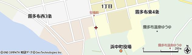 北海道厚岸郡浜中町周辺の地図