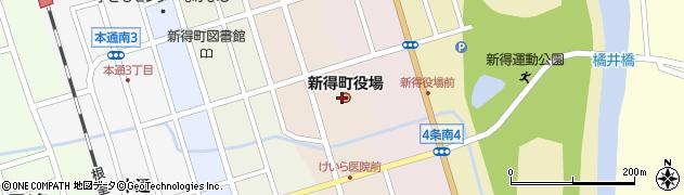 北海道上川郡新得町周辺の地図