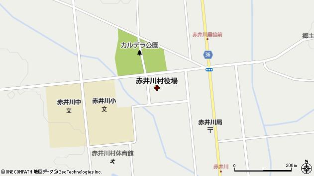 〒046-0500 北海道余市郡赤井川村(以下に掲載がない場合)の地図