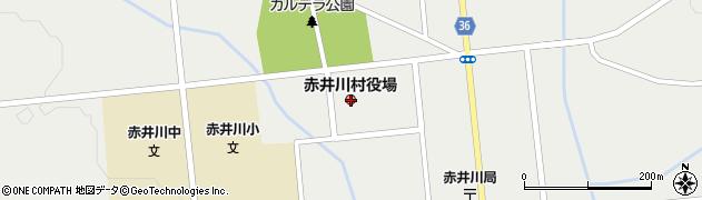 北海道余市郡赤井川村周辺の地図