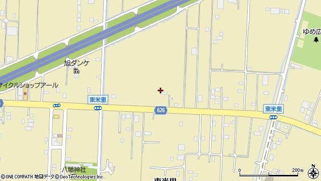〒003-0876 北海道札幌市白石区東米里の地図