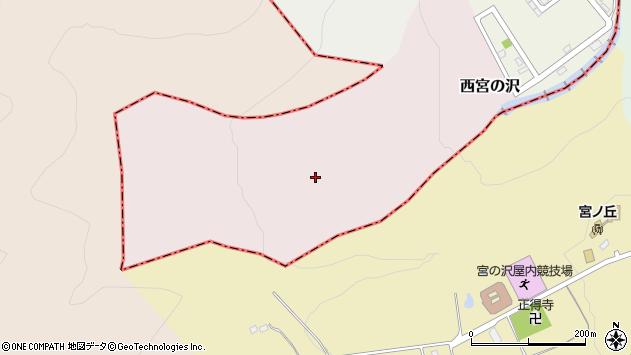 〒006-0009 北海道札幌市手稲区西宮の沢の地図