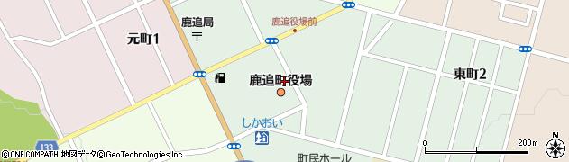 北海道河東郡鹿追町周辺の地図