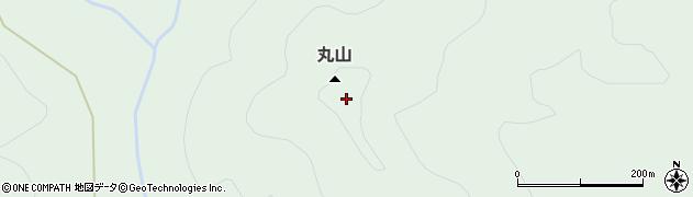 丸山周辺の地図