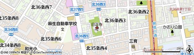 日正寺周辺の地図