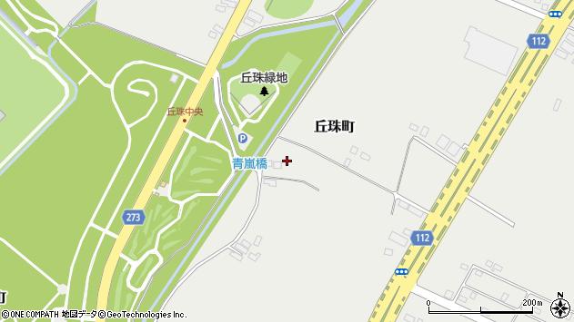 〒007-0880 北海道札幌市東区丘珠町の地図