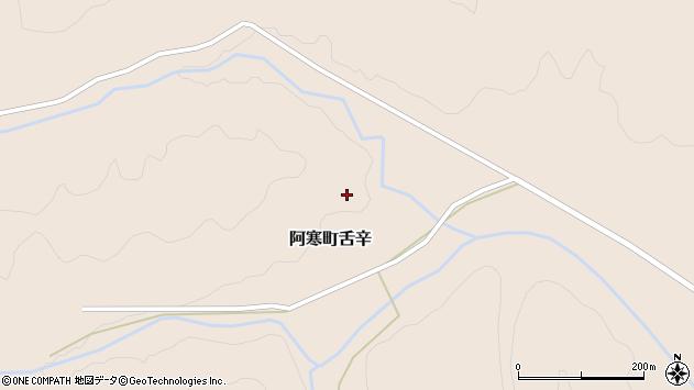 〒085-0220 北海道釧路市阿寒町舌辛の地図