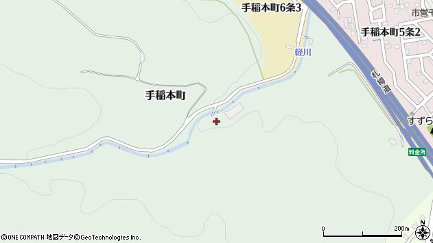 〒006-0029 北海道札幌市手稲区手稲本町の地図