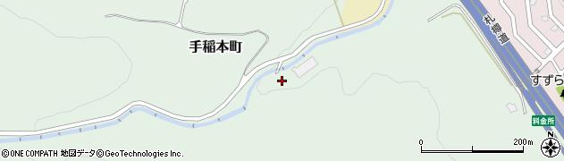 北海道札幌市手稲区手稲本町周辺の地図