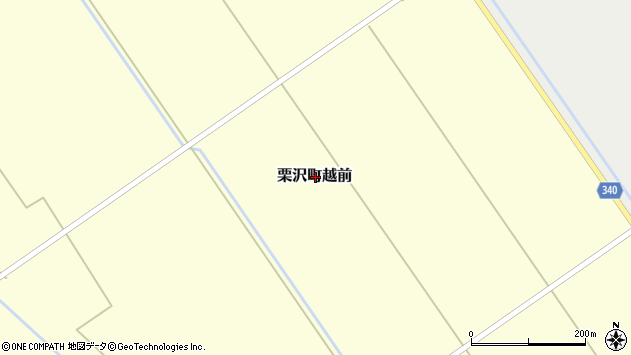 〒068-0106 北海道岩見沢市栗沢町越前の地図