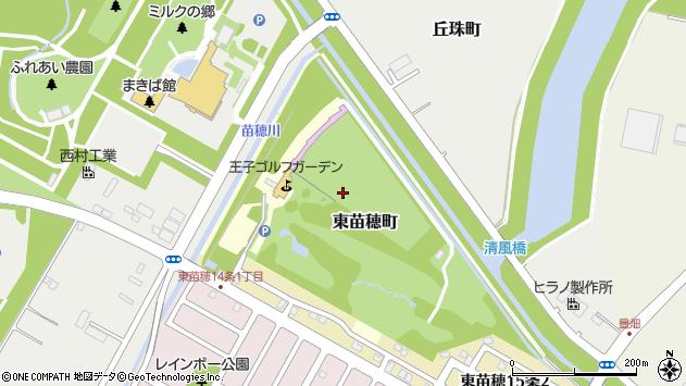 〒007-0819 北海道札幌市東区東苗穂町の地図