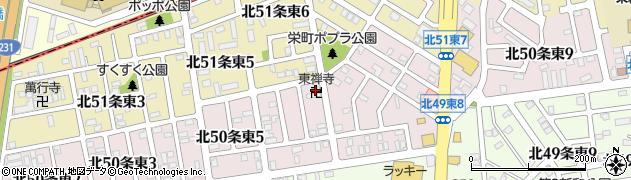 東禅寺周辺の地図