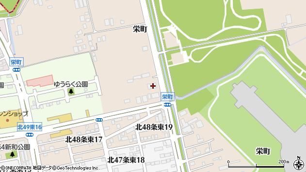 〒007-0852 北海道札幌市東区栄町の地図